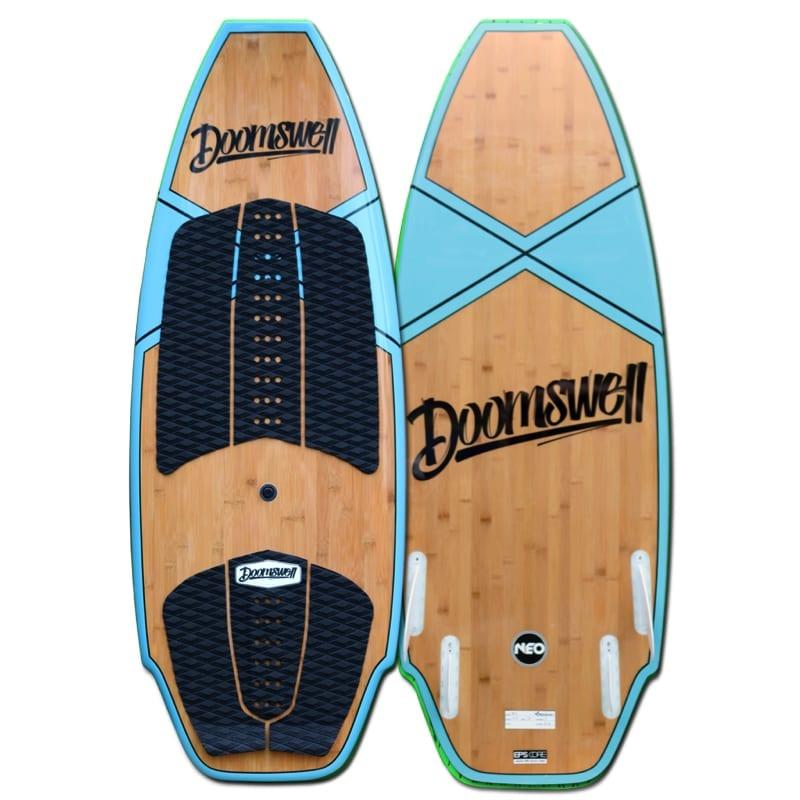 Doomswell Bamboo Surfboard 2018 4 6