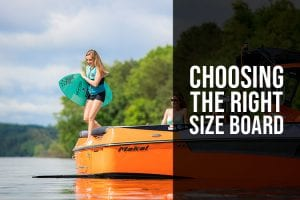 Choosing The Proper Sized Wakesurf and Wakeboard Equipment